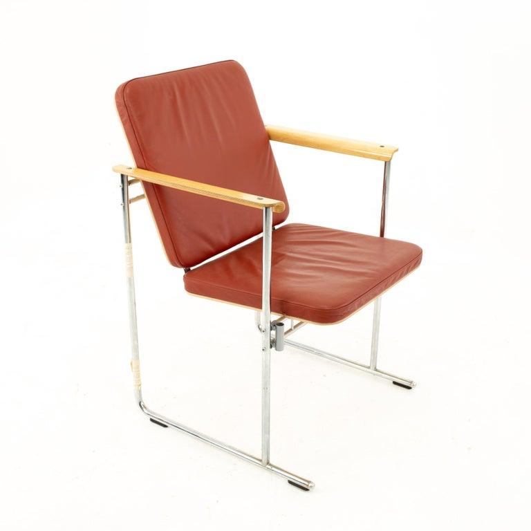 Yjro Kukkapuro Midcentury Dining Chairs, Set of 8 For Sale 1