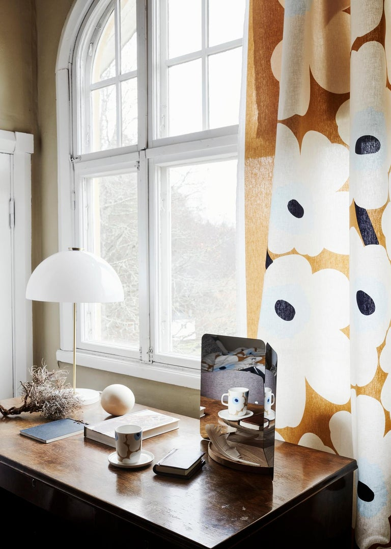 Painted Yki Nummi 'Kupoli' Table Lamp for Innolux Oy For Sale