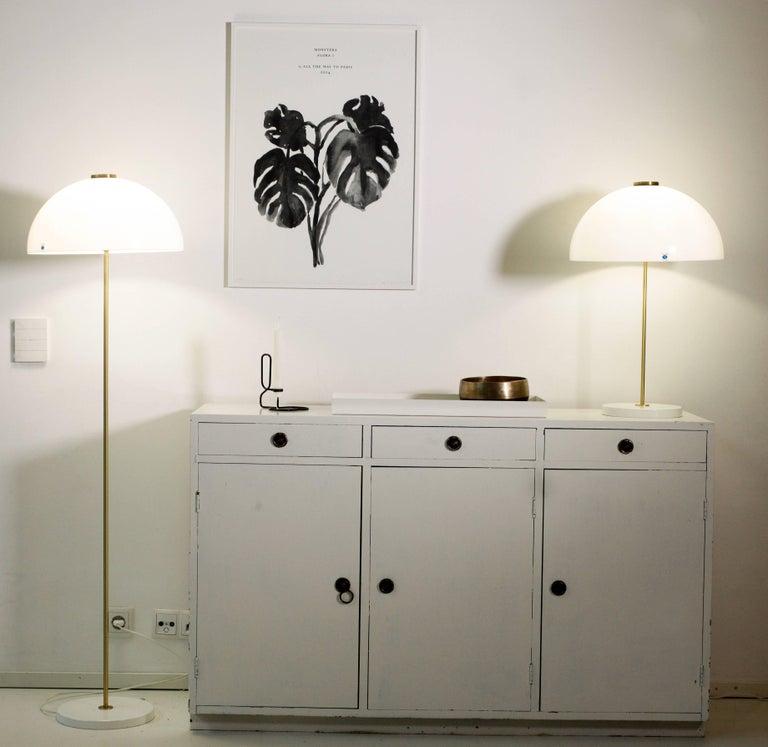 Metal Yki Nummi 'Kupoli' Table Lamp for Innolux Oy For Sale