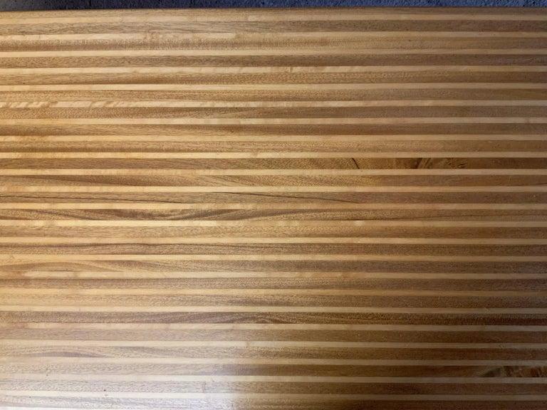 Yngvar Sandstrom for Nordiska Kompaniet Butcher Block Coffee Table For Sale 7