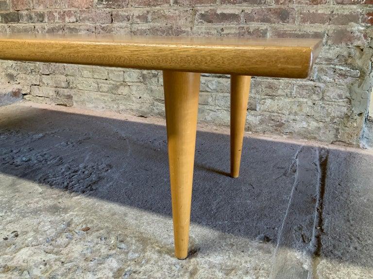 Yngvar Sandstrom for Nordiska Kompaniet Butcher Block Coffee Table For Sale 2