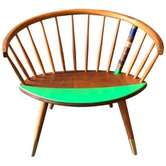 "Yngve Ekström Arka Chair Contemporized and Named ""brachialer Konstruktivismus"""