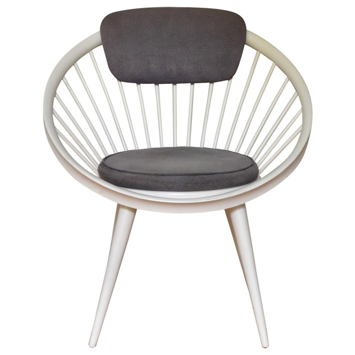 Yngve Ekström Circle Chair for Swedese, 1960s, Swedese Sweden