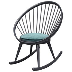Yngve Ekström 'Circle' Rocking Chair, Sweden, circa 1960