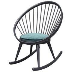 Yngve Ekström 'Circle' Rocking Chair, Sweden, circa 1960