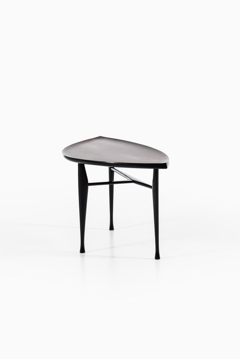 Yngve Ekström Coffee Table Produced by Westbergs in Sweden In Good Condition For Sale In Malmo, SE