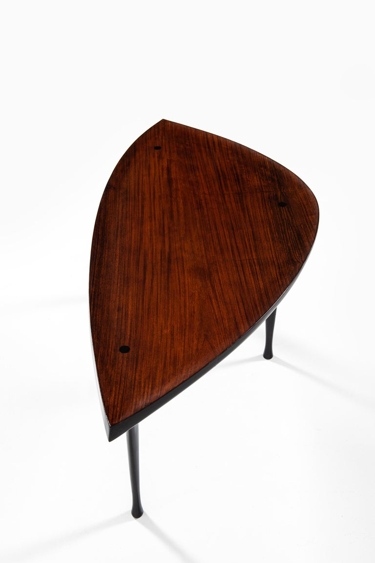 Mid-20th Century Yngve Ekström Coffee Table Produced by Westbergs in Sweden For Sale