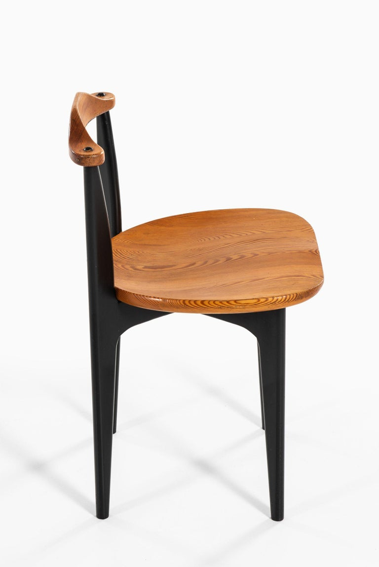 Mid-20th Century Yngve Ekström Dining Chairs Model Thema Produced by Swedese in Sweden For Sale