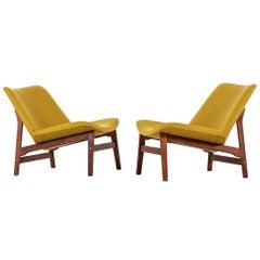 Yngve Ekström Easy Chairs by Ese-Möbler in Sweden