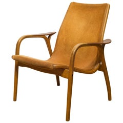 Yngve Ekström for Swedese Lamino Lounge Chair, circa 1960s