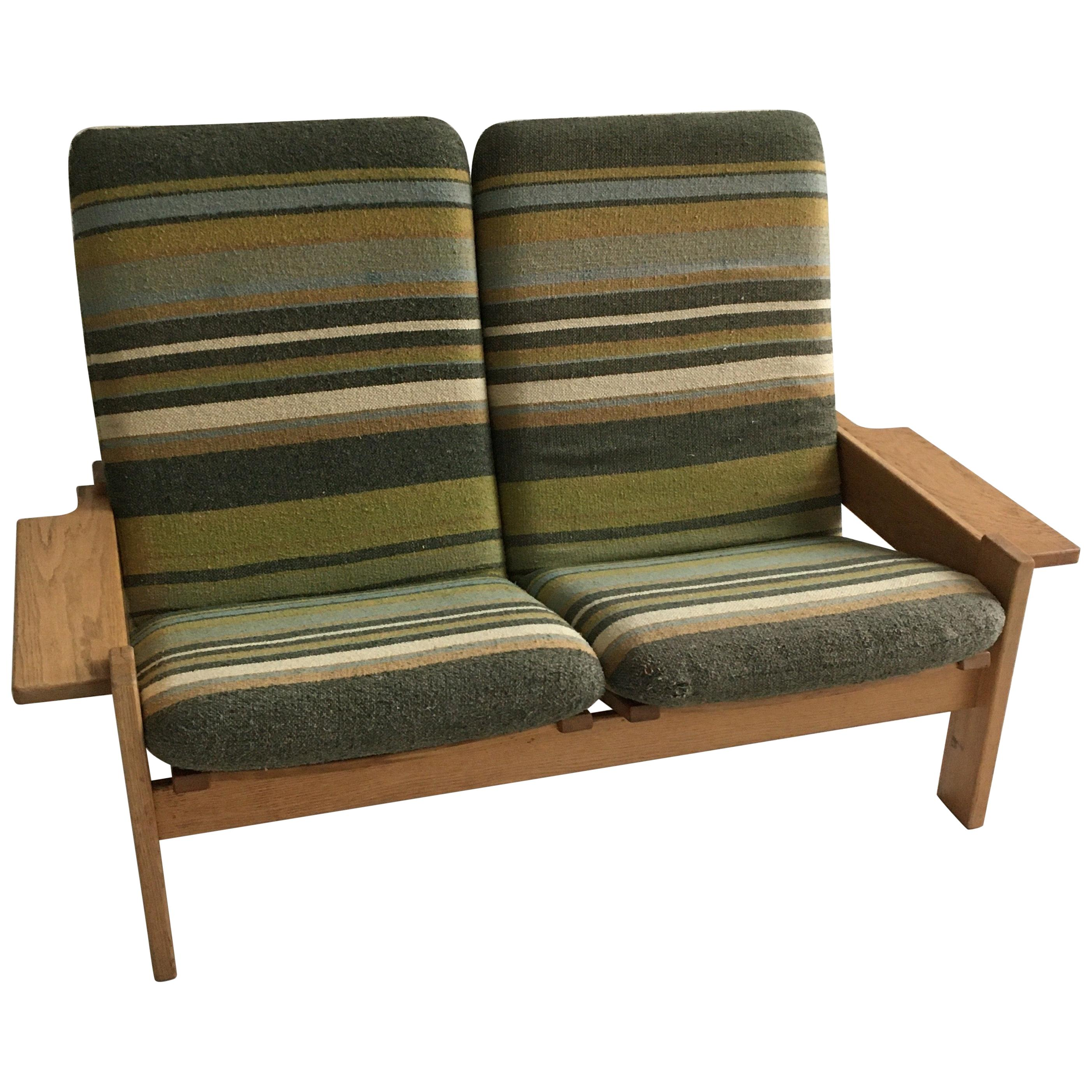 Yngve Ekstrom for Swedese Møbler Two-Seat Sofa Loveseat