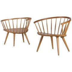"Yngve Ekström Pair of ""Arka"" Chairs"