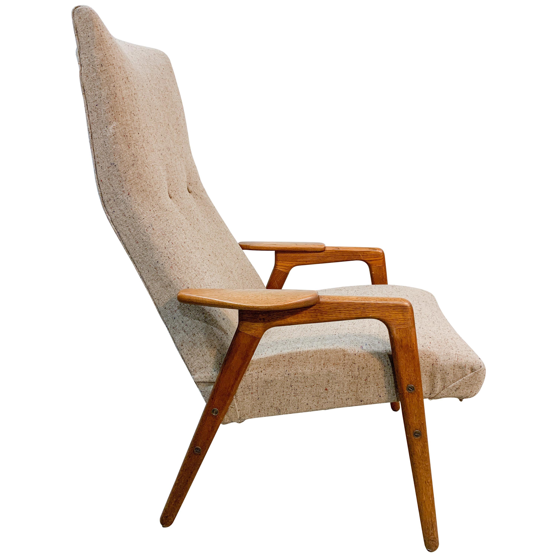 Yngve Ekstrom Ruster Swedish Mid-Century Modern Chair