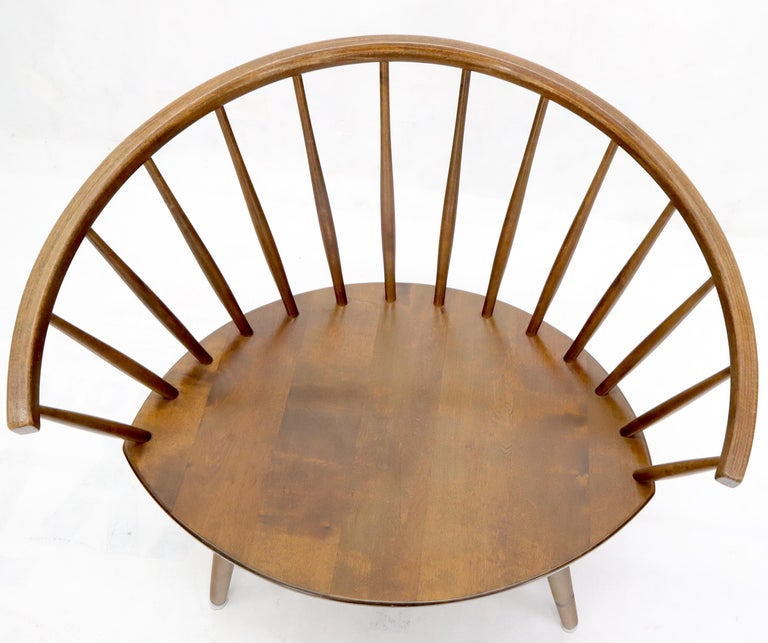 Mid-Century Modern Yngve Ekström Arka lounge chair.