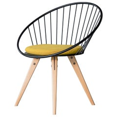 Yngve Round Chair for Dining and Desk
