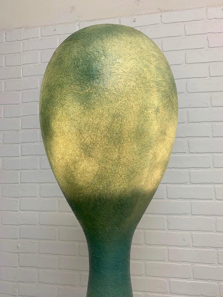 Molded Yoga Floor Lamp by Guglielmo Berchicci For Sale
