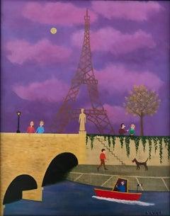 Full moon in Paris