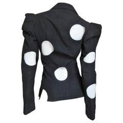 Yohji Yamamoto Jacket with Circle Cut outs