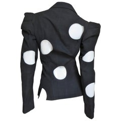 Yohji Yamamoto Jacket with Circle Cutouts