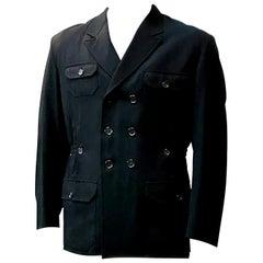 Yohji Yamamoto Military Style Jacket