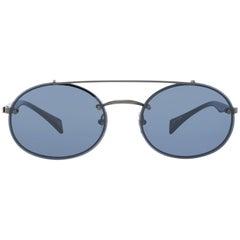 Yohji Yamamoto Mint Unisex Gray Sunglasses YS7002 56901 56-18-137 mm