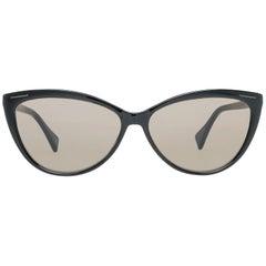 Yohji Yamamoto Mint Women Black Sunglasses YS5001 58001 58-13-140 mm