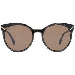 Yohji Yamamoto Mint Women Brown Sunglasses YS5003 54134 54-20-140 mm