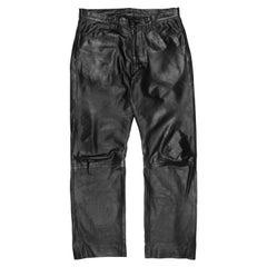 Yohji Yamamoto Pour Homme AW2003 Leather Pants