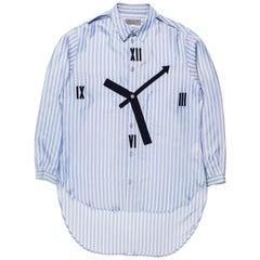 Yohji Yamamoto Pour Homme SS2014 Clock Shirt