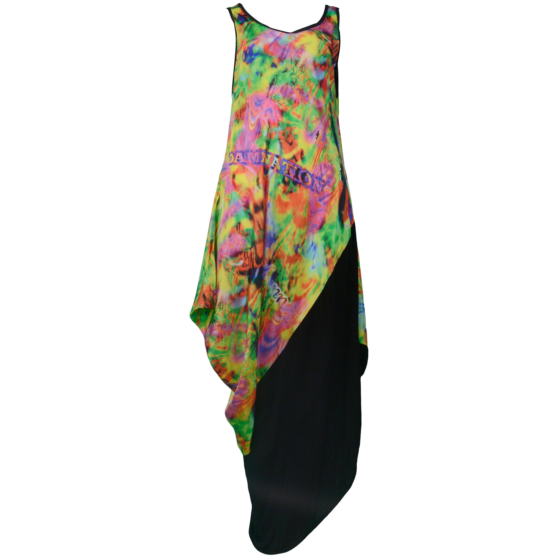 Yohji Yamamoto Psychedelic Damnation Drape Gown 2011