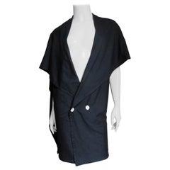 Yohji Yamamoto Silk Jacket 1980s