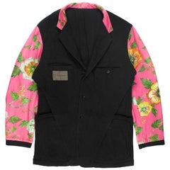Yohji Yamamoto Y's For Men Reversible Floral Blazer