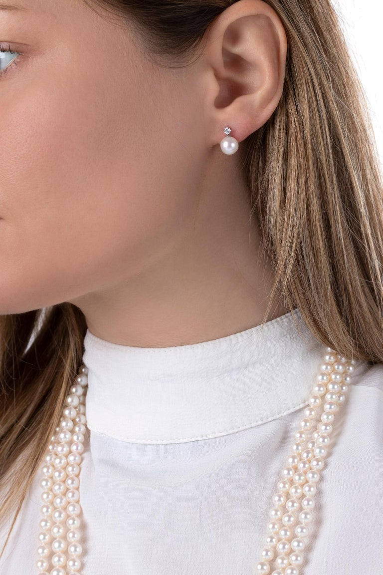 Yoko London's Classic collection is comprised of timeless pieces that would make a spectacular addition to any jewellery box; with each piece designed to last through the generations. Featuring a lustrous 8-8.5mm Freshwater pearl suspended beneath a