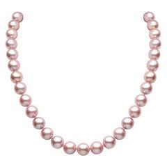 Yoko London Freshwater Pearl Necklace in 18 Karat White Gold