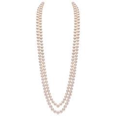 Yoko London Freshwater Pearl Rope Necklace