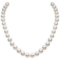 Yoko London South Sea Pearl and Diamond Classic Necklace in 18 Karat White Gold