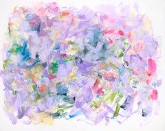 "Yolanda Sanchez ""Hidden Harmonies"" - Colorful Abstract Oil Painting on Canvas"
