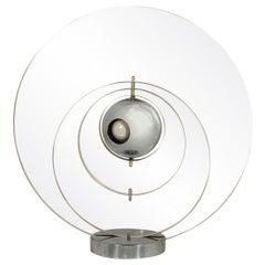 """Yonel Lebovici, Table Lamp, Model """"Satellite"""", France, circa 1970"""