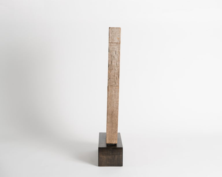American Yongjin Han, a Piece of Wood, Sculpture, United States, circa 1985 For Sale