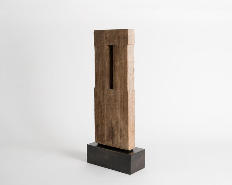 Yongjin Han, a Piece of Wood, Sculpture, United States, circa 1985 For Sale 1