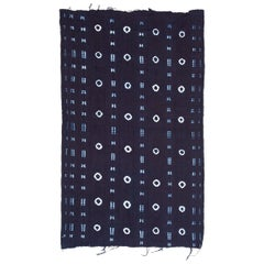 Yoruba Adire Oniko Indigo Textile