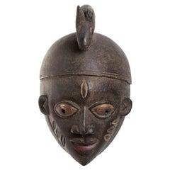 Yoruba Wooden Mask. West Africa / Nigeria, 20th Century