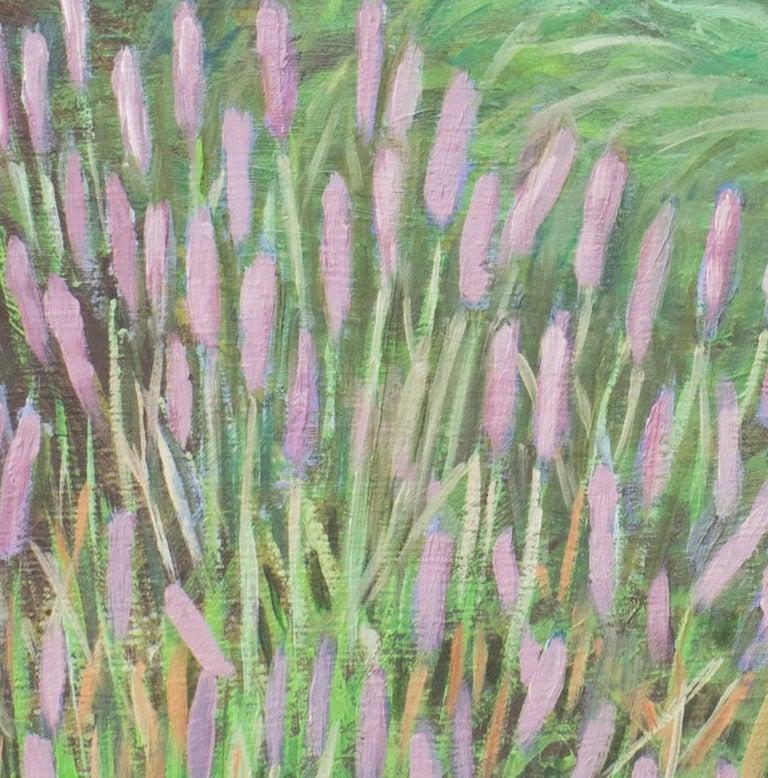 Herb Garden II - Painting by Yoshie Iwahashi