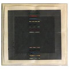 Yoshisuke Funasaka Japanese Limited Edition Large Woodblock Serigraph Print 1981