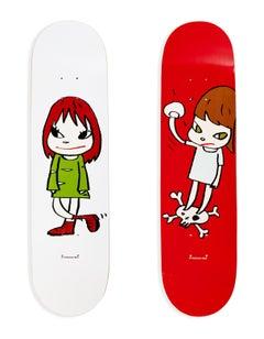 Yoshitomo Nara Skateboard Decks (Set of 2)