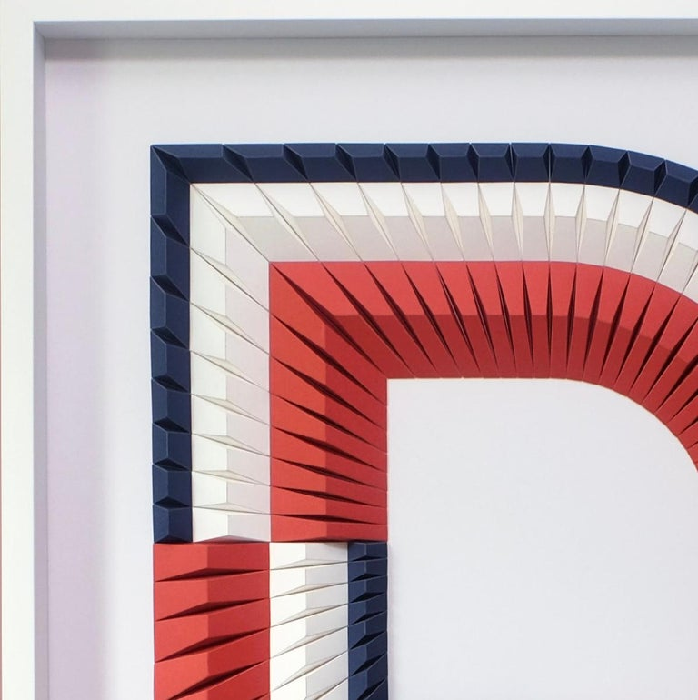Arch B - Geometric abstract wall sculpture For Sale 1