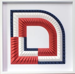 Arch B - Geometric abstract wall sculpture