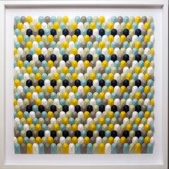 Summer fields - abstract wall sculpture