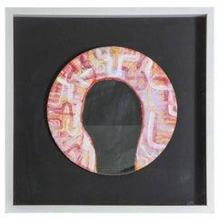 'You' by Donald Gajadhar Acrylic on Mirror