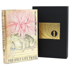 You Only Live Twice by Ian Fleming, First Edition, in Original Dust Jacket, 1964